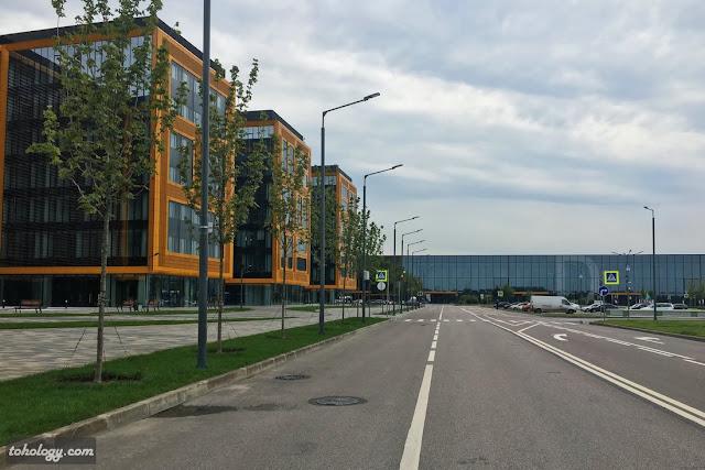 Бизнес-центры в рамках КВЦ «Экспофорум»
