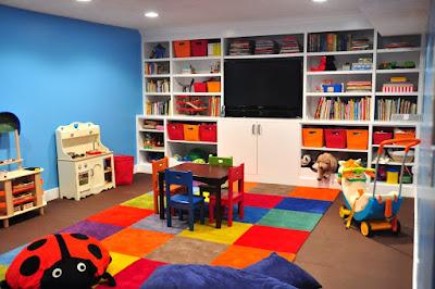 Model dan Desain Interior Ruang Belajar Anak