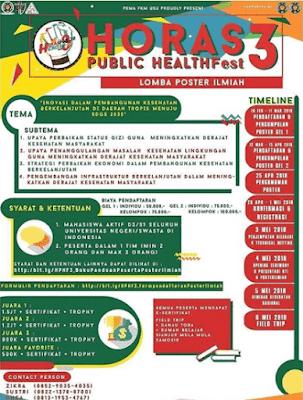 Event Horas Public Health Fest 2018 USU