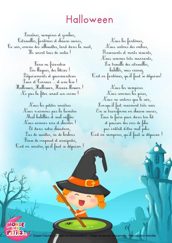 Halloween - wiersz 1 - Francuski przy kawie