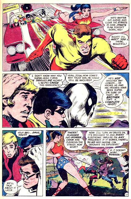 Teen Titans #20 dc silver age comic book page by Neal Adams