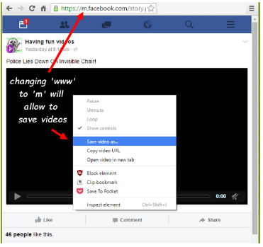 How To Save A Video On Facebook
