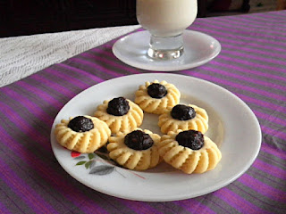 Date Tart Recipe @ treatntrick.blogspot.com