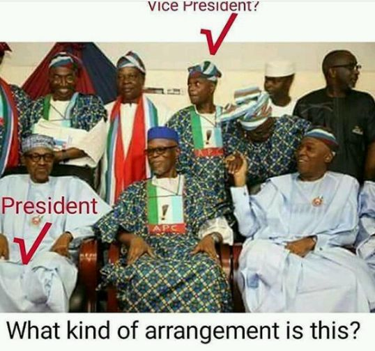 People are Complaining about This Photo of Buhari, Osinbajo, Saraki, Oyegun...