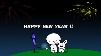 Gambar Ucapan Tahun Baru 2017 Kartun Lucu Happy New Year Wallpaper