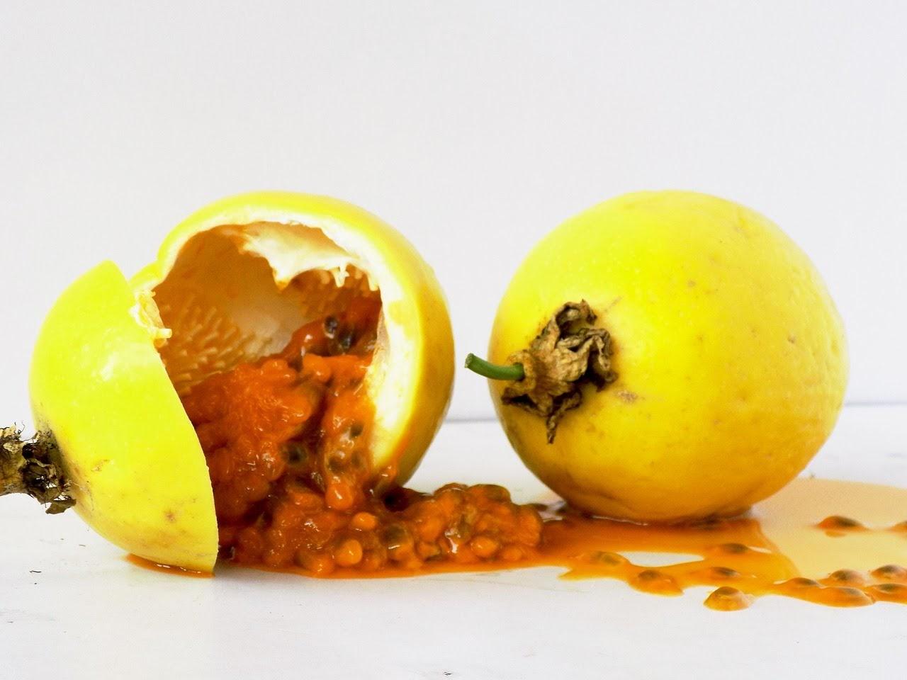 Fruta madura del mrurukuja