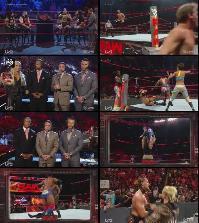 WWE Monday Night Raw 29 August 2016 HDTV 480p