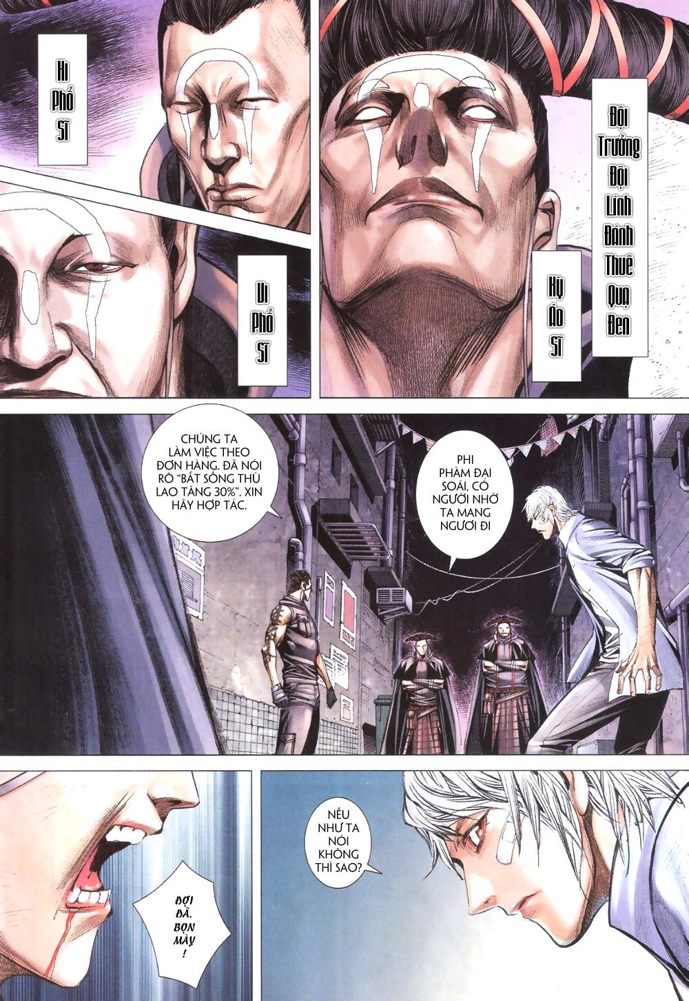 Đại Quân Phiệt chap 9 trang 6