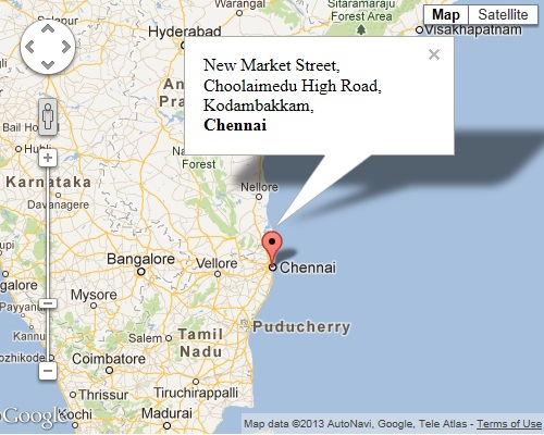 JavaScript Show Info Window in Google Map When Click on