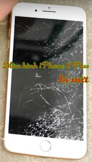 Cách phân biệt khi nào cần thay mặt kính iPhone 8 plus và thay full bộ màn hình