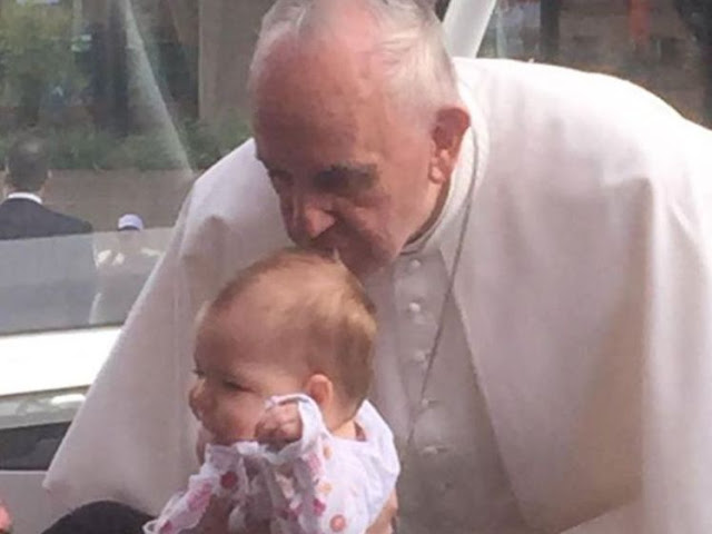 Baby With Rare Brain Tumor Kissed By Pope      Miraculously      Recovers