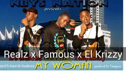 El krizzy ft Kvng Realz & Wf famous – My Woman-www.mp3made.com.ng
