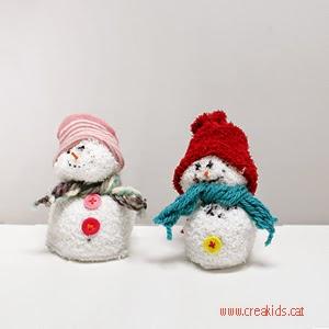 CreaKids: Cosemos muñecos de nieve