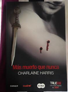 Portada del libro Más muerto que nunca, de Charlaine Harris