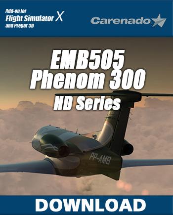 FSX/P3D] Carenado - EMB505 Phenom 300 v1 3 + NavPack v1 1