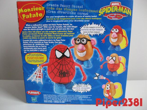 Piper2381 . Potato Head Spider-man