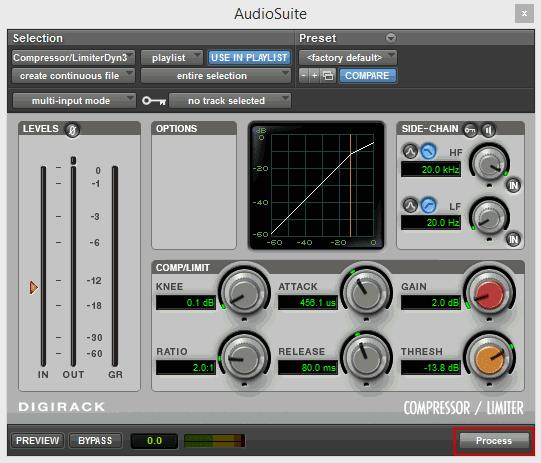 Pro Tools AudioSuite