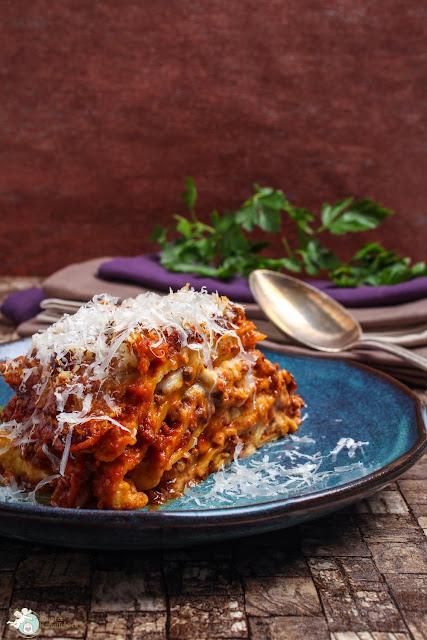 italienische Pfannkuchenlasagne
