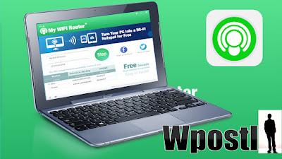 يعتبر برنامج My Wifi Router من البرامج الرائدة في مجال تحويل حاسوبك الى روتر لتوزيع الانترنت حيث يتميز بالسهولة والاحترافية في العمل.