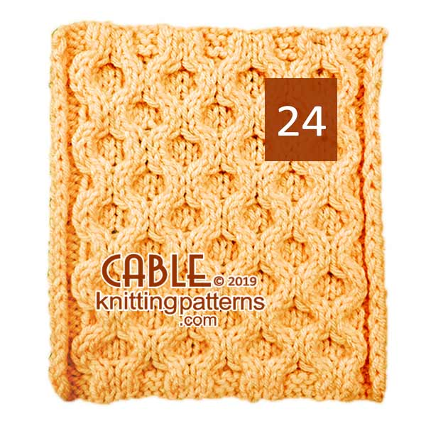 Cable Knitting Pattern 24