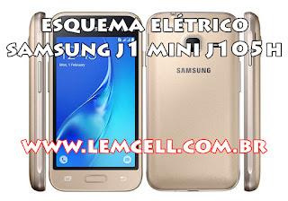 Esquema Elétrico Celular Smartphone Samsung Galaxy J1 Mini 2016 SM J105 H Manual de Serviço  Service Manual schematic Diagram Cell Phone Smartphone Samsung Galaxy J1 Mini 2016 SM J105H