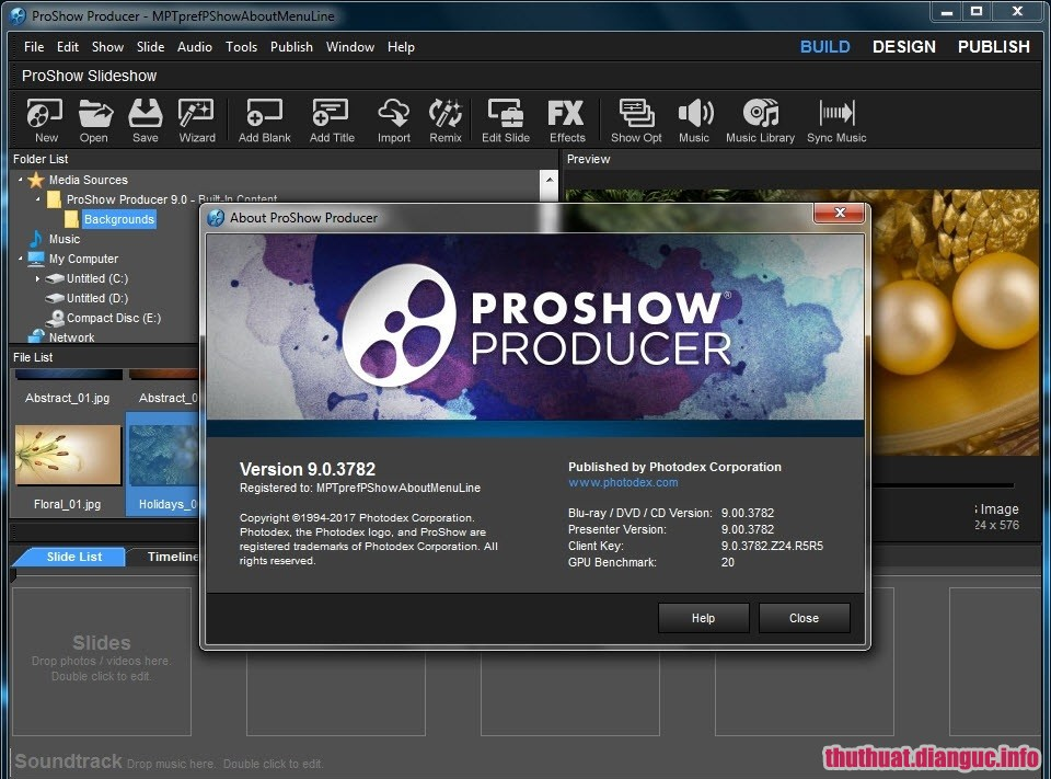 Download ProShow Producer 9.0 Full Key + Portable