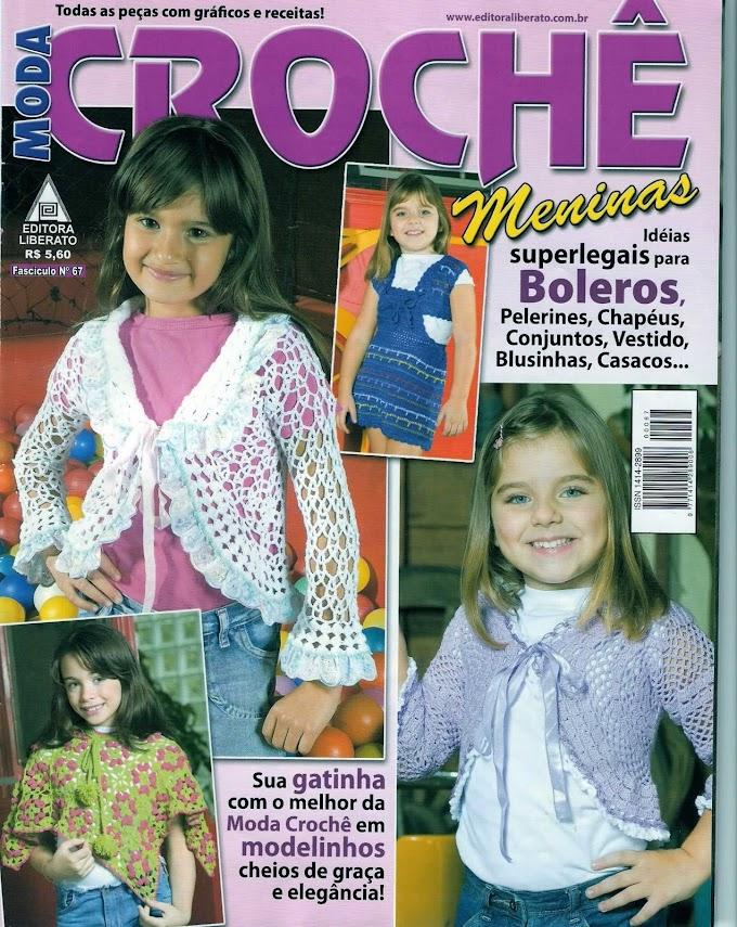 Revista Moda Crochê Meninas-N° 67