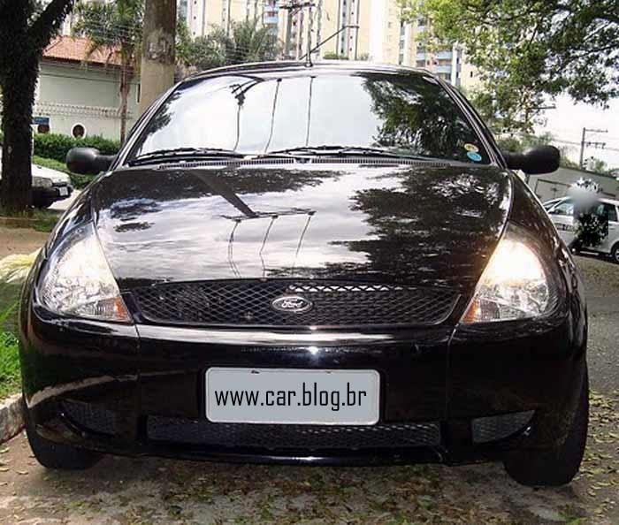 Ford Ka  Zetec Rocam Preto Frente