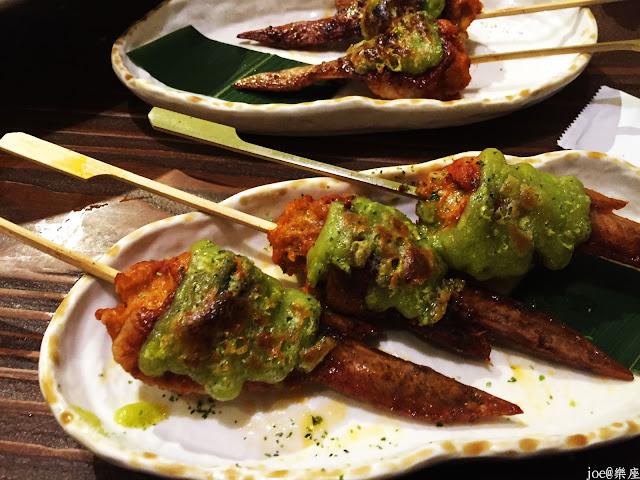 IMG 9694 - 【台中美食】來自日本傳統好滋味的 樂座端爐燒 @日本古早味@新鮮海鮮@新鮮蔬果~