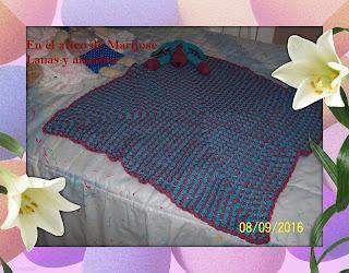 f91fa9b60 En el atico de Marijose: Manta bebe
