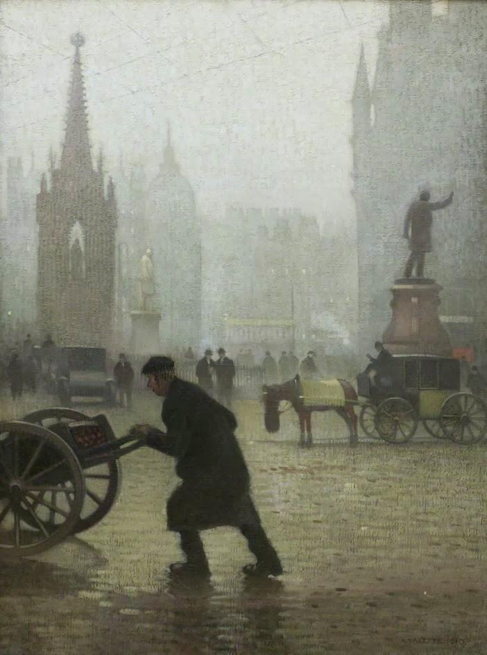 Adolphe  Valette    Albert  Square C  Manchester