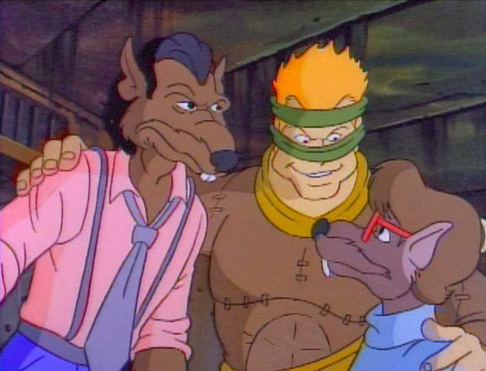 Teenage Mutant Ninja Turtles (1987) - Serie Simili