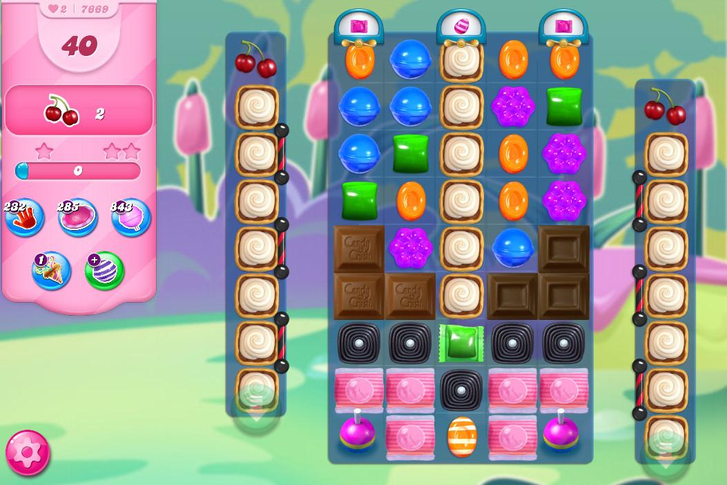 Candy Crush Saga level 7669