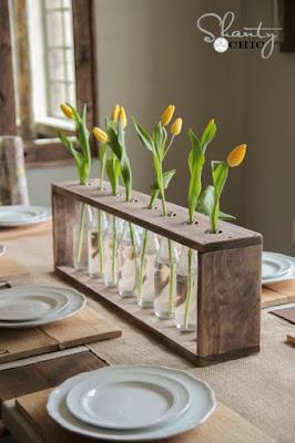image tutorial diy vase centrepiece