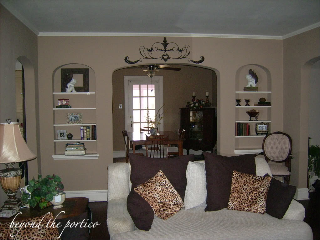C b i d home decor and design cozy but not dark for Warm white paint for north facing room