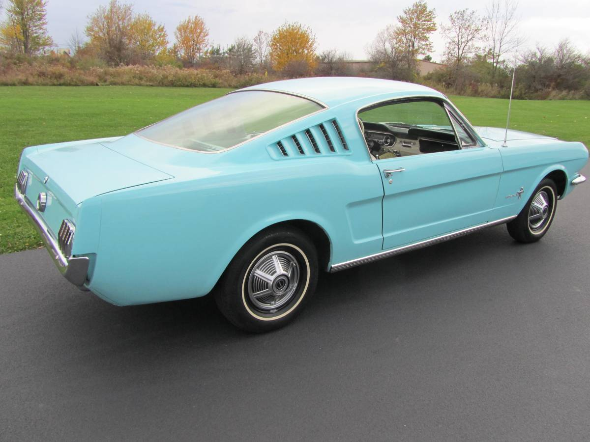 Virginia Classic Mustang Blog: Rare 1965 Mustang Fastback For Sale!