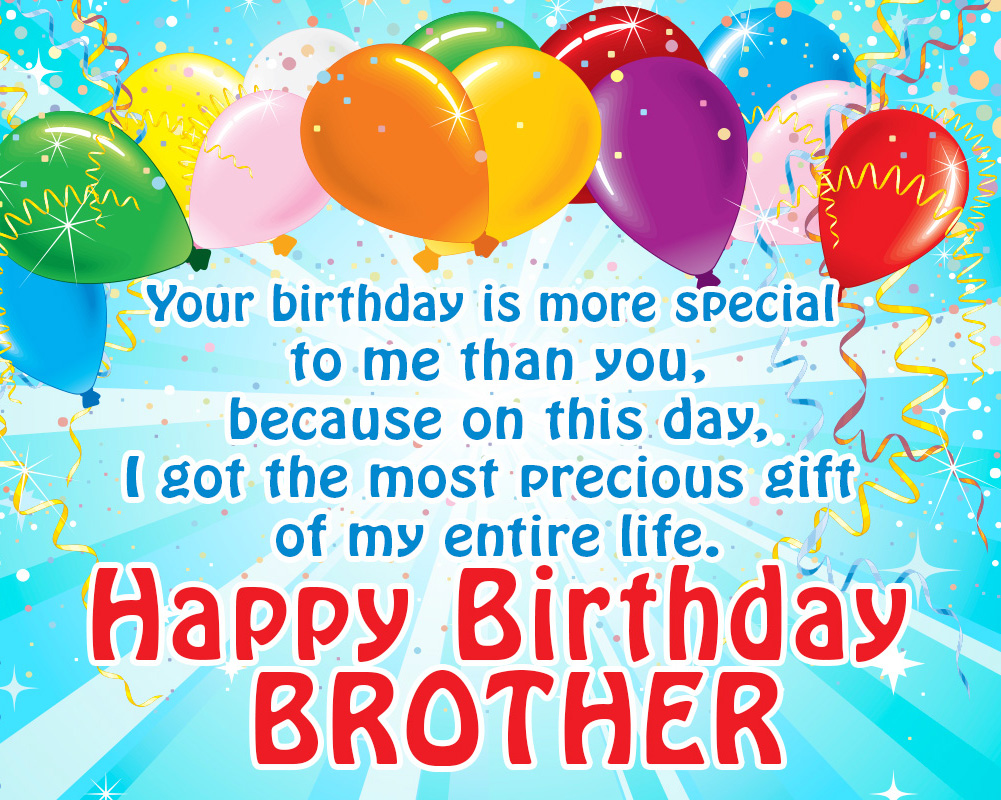 Happy Birthday Wishes To My Brother Quotes: HAPPY BIRTHDAY BROTHER ,birthday For Brother,brother
