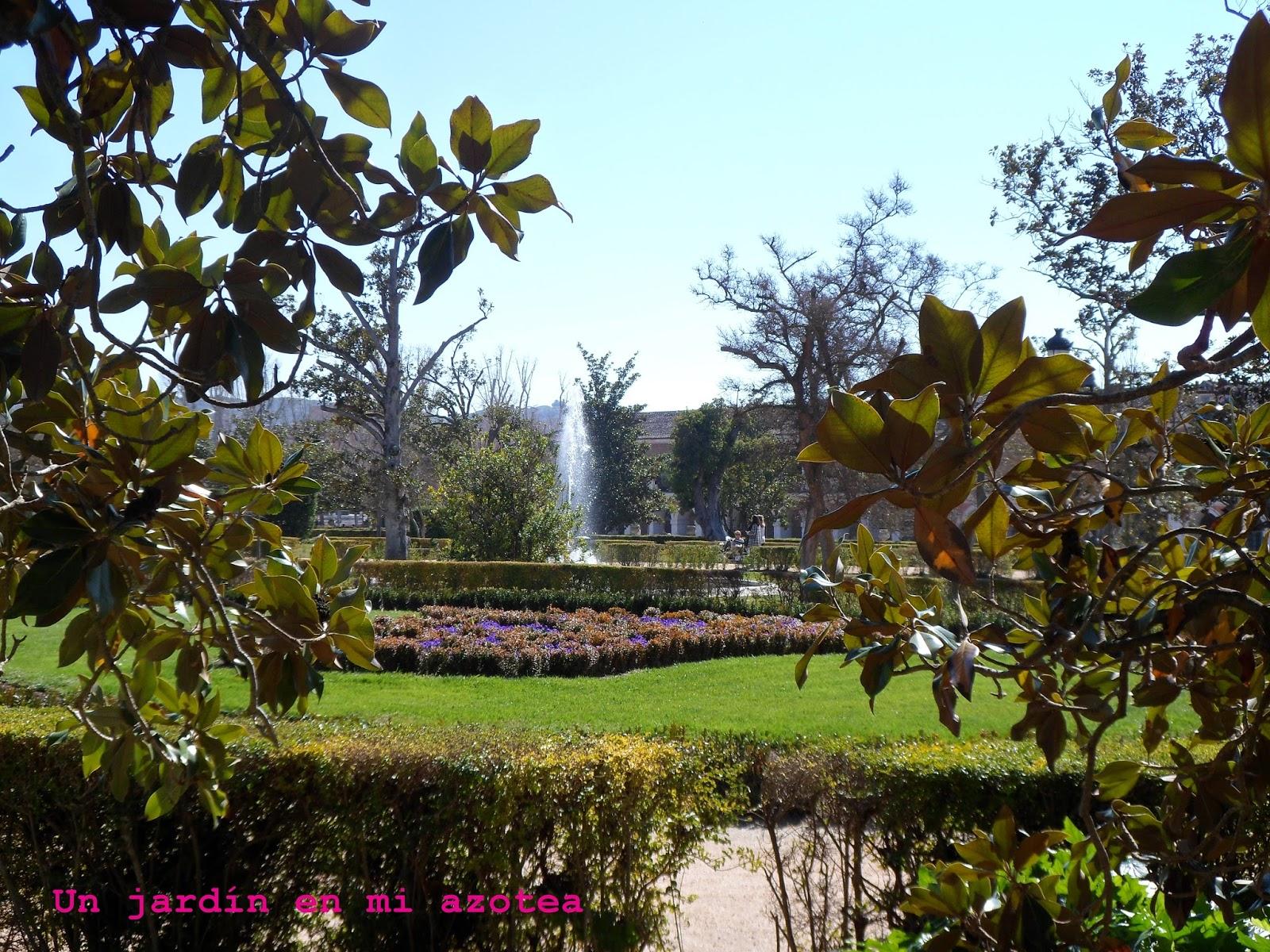Un jard n en mi azotea el jard n del parterre de aranjuez for El jardin de aranjuez