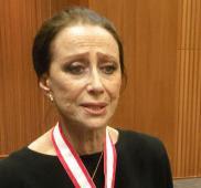 20世紀最高のバレリーナ、マイヤ・プリセツカヤさんに勲章