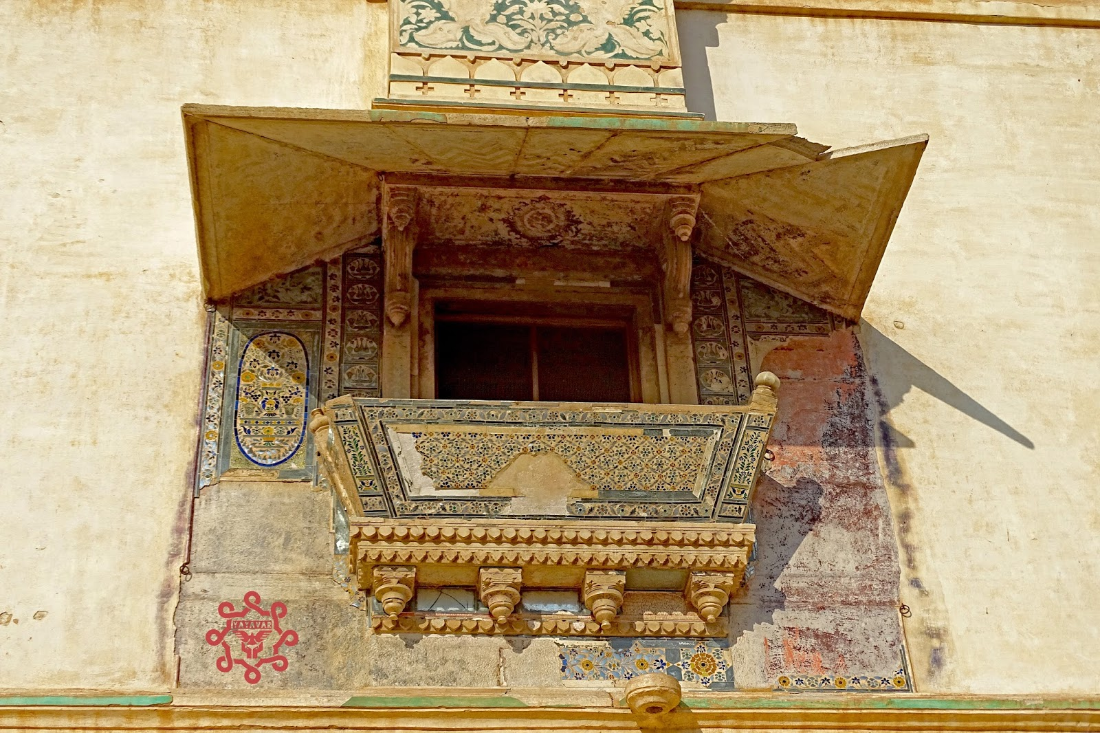 Balcony Bundi Fort