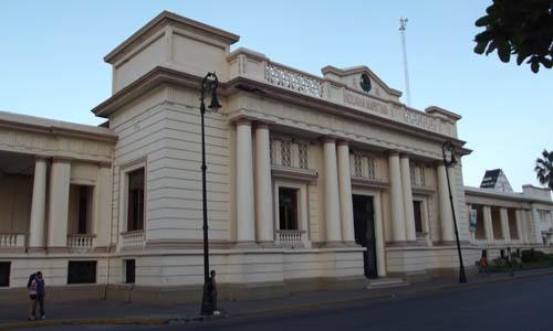 Edificio de la Aduana Marítima en Veracruz