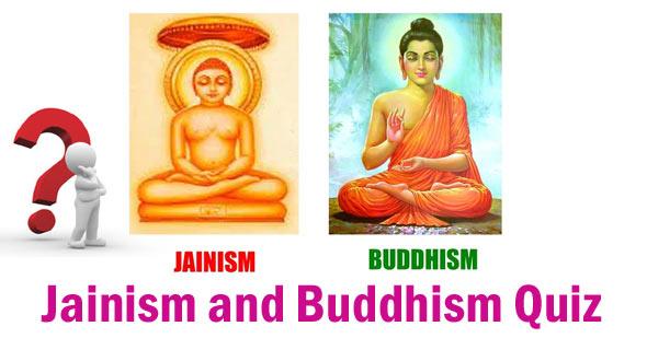 jainism and buddhism quiz