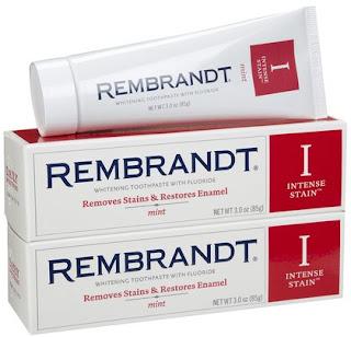 Stain whitening toothpaste