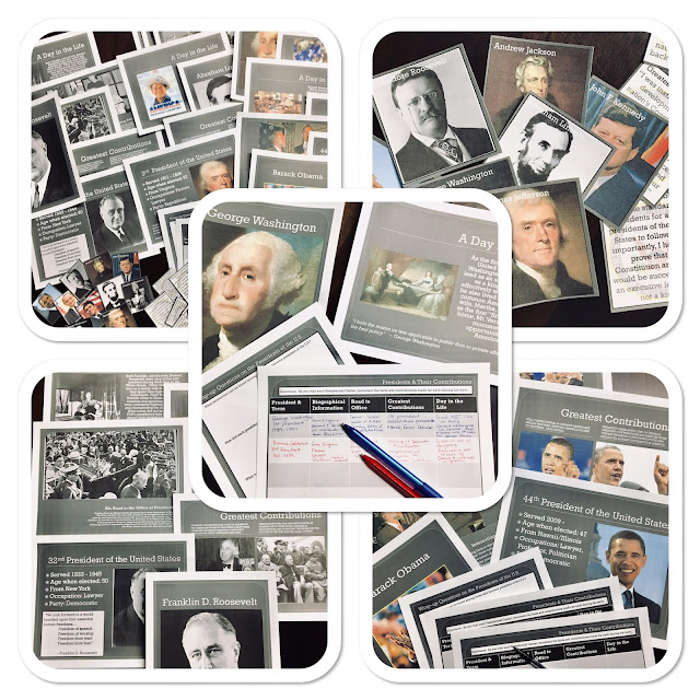 Though a small percentage of your students may learn well from rote memorization, many need a more engaging lesson to help them retain facts, specific information, and comparisons among our American Presidents. Teaching Presidential Contributions to your middle school and high school students can move beyond boring memorization with the right teaching strategies and a sure-fire lesson plan! Perfect for a lesson before or after Presidents' Day, or really any time of year, learning about the contributions of our Presidents can be engaging, fun, and even memorable. #teaching #lessonplans #UShistory #Presidentsday #USPresidents #Presidentialcontributions