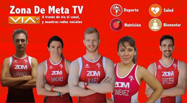 Zona de Meta ZDM en televisión TV Triatlón Leganés