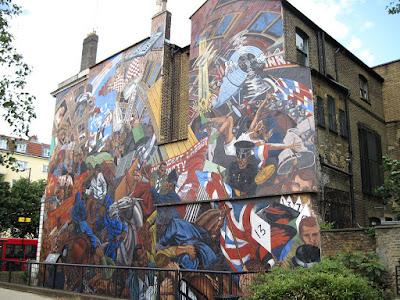 Contoh Seni Rupa 2 Dimensi Mural
