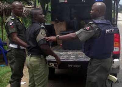 3 nigerian policemen kidnapped zamfara