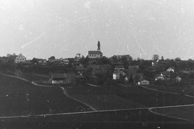 Detailaufnahme - der Ort Schäftlarn - um 1910-1930