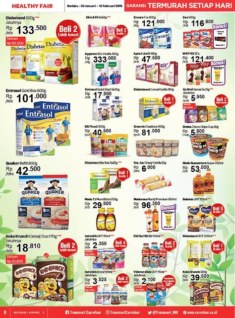 Katalog Promo Transmart Carrefour Mataram Edisi 30 Januari Sampai 12 Pebruari 2019