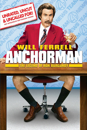 Poster Of Anchorman In Dual Audio Hindi English 300MB Compressed Small Size Pc Movie Free Download Only At worldfree4u.com